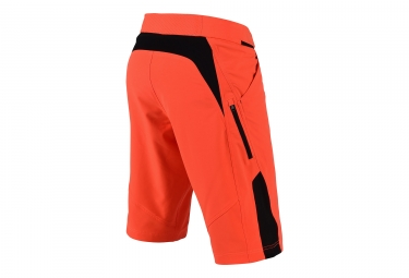 Short Troy Lee Designs Ruckus Solid Orange
