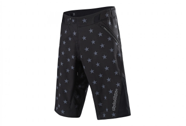 Troy Lee Designs Ruckus Star Shorts Black Grey