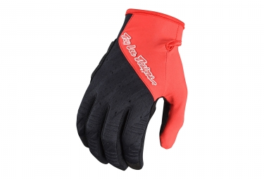 Troy Lee Designs Ruckus Long Gloves Red