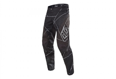 Pantalon troy lee designs sprint metric noir blanc 36