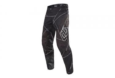 pantalon troy lee designs sprint metric noir blanc 36