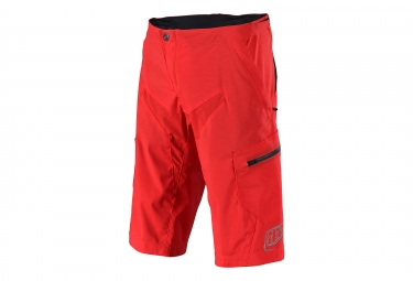 Short troy lee designs moto solid rouge 34