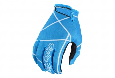 Gants longs troy lee designs air metric bleu s