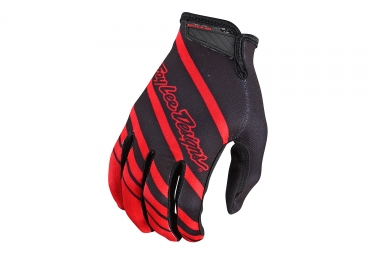 Troy Lee Designs Air Streamline Long Guantes Rojo Negro