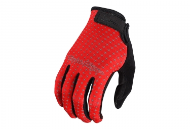 Gants longs troy lee designs sprint rouge l