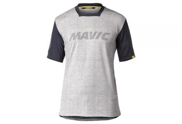 Maillot Manches Courtes Mavic 2018 Deemax Pro Ltd Sam Hill Gris Noir