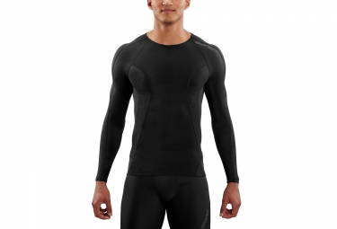 Maillot manches longues skins dnamic noir homme xl