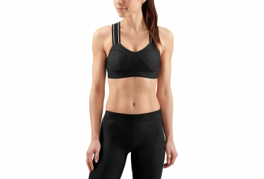 Skins DNAmic Sports Bra Black / Black Women