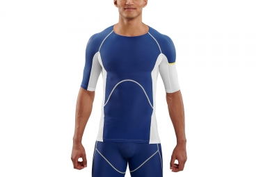 Maillot Skins DNAmic Ultimate Cooling Hombre Blanco Azul