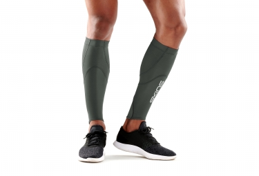 Skins Essentials Calftights mx Green Kaki Unisex