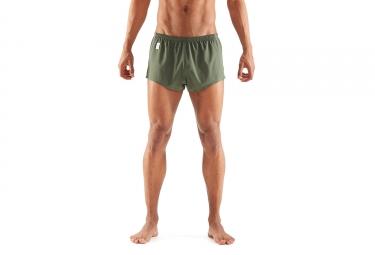 Skins Activewear Standby 2 Run Short Verde Caqui Hombre