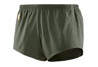Skins Activewear Standby 2 Run Short Vert Kaki Homme