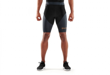 cuissard skins dnamic triathlon noir gris homme m