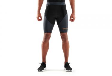 Skins DNAmic Triathlon 1/2 Tights Black/Grey Men