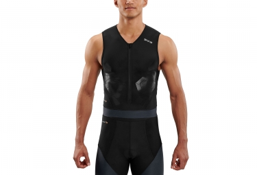 Skins DNAmic Triathlon Top Black