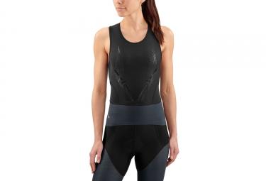 Maillot sans manche Skins DNAmic Triathlon Noir Femme