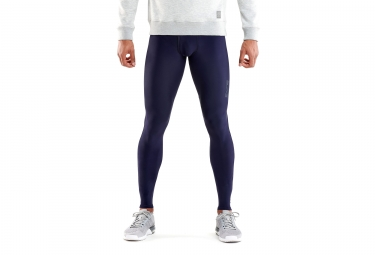 collant long skins dnamic sport recovery bleu homme l
