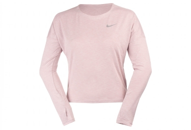 Maillot Manches Longues Femme Nike Dry Medalist Rose