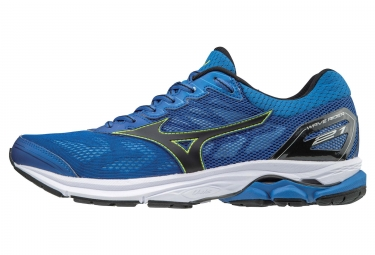 Chaussures de running mizuno wave rider 21 bleu noir 41