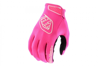 Gants Longs Femme Troy Lee Designs Air Rose Fluo