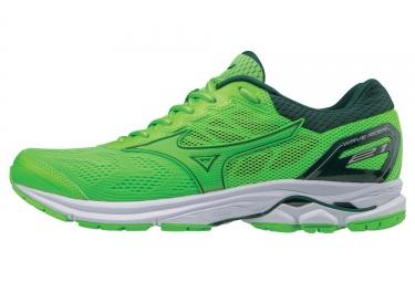 Chaussures de running mizuno wave rider 21 vert 41