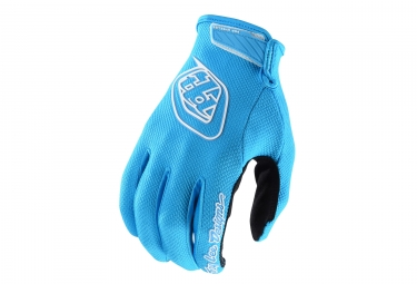 Gants longs troy lee designs air bleu clair s