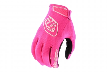 Troy Lee Designs Air Youth Long Gloves Neon Pink