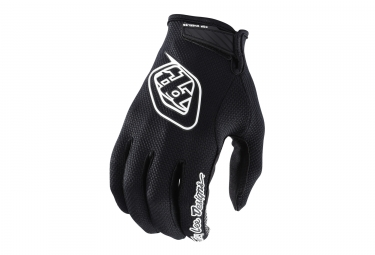 Gants longs enfant troy lee designs air noir kid l