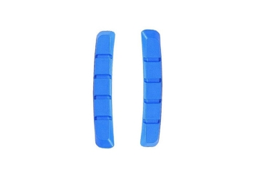 x2 cartouches de patins de freins box two 70mm bleu
