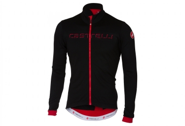 Castelli 2018 Fondo Long Sleeves Jersey Black Red