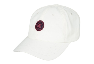Casquette DC Shoes Star Dad Blanc