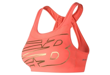 New Balance Bra NB Pulse Corail Mujeres