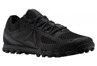 chaussures de trail reebok all terrain super 3 0 stealth noir 44