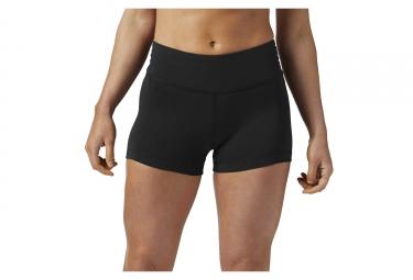 Pantalón corto para mujer Reebok Lux Negro