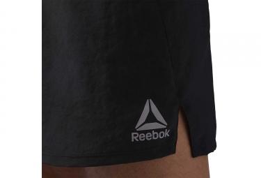 Short Reebok Running 3 in Noir