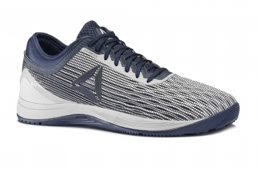 Chaussures de Cross Training Reebok Crossfit Nano 8 Flexweave Bleu / Gris
