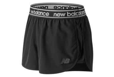 Short Femme New Balance Accelerate V2 Noir