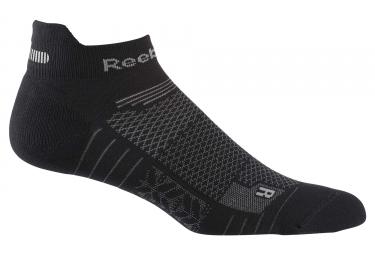 Paire de chaussettes basses reebok one series running noir 40 42