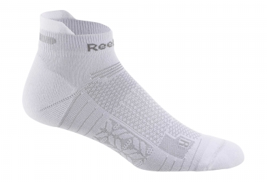 Paire de chaussettes basses reebok one series running blanc 43 45