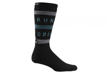 Paire de chaussettes reebok running noir 43 45