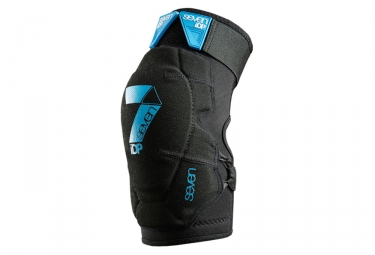 Seven Pair of Knee Pad Flex Black