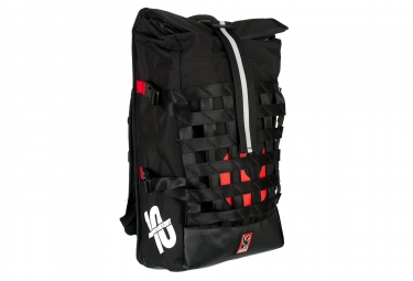 Mochila Rolltop Chrome Barrage Cargo Red Hook Crit Negro Rojo