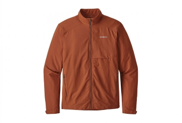 Veste patagonia dirt craft copper ore orange marron s