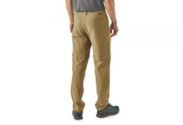 Pantalon Convertible Patagonia Quandary Ash Tan