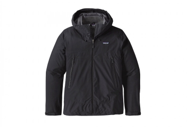 Veste impermeable patagonia cloud ridge noir l
