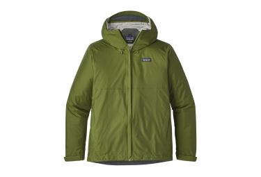 Veste impermeable patagonia torrentshell vert kaki s