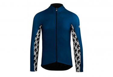 Assos Long Sleeves Jersey tiburu MilleGT caleumBlue
