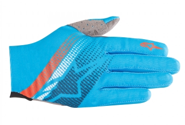 ALPINESTARS Gants PREDATOR bleu orange