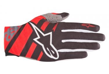 Alpinestars gants racer rouge noir s