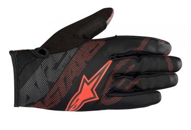Alpinestars gants stratus noir rouge xl